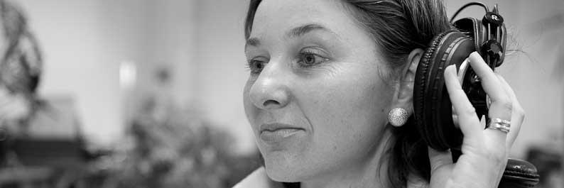 Stimmexpertin Christa Maier